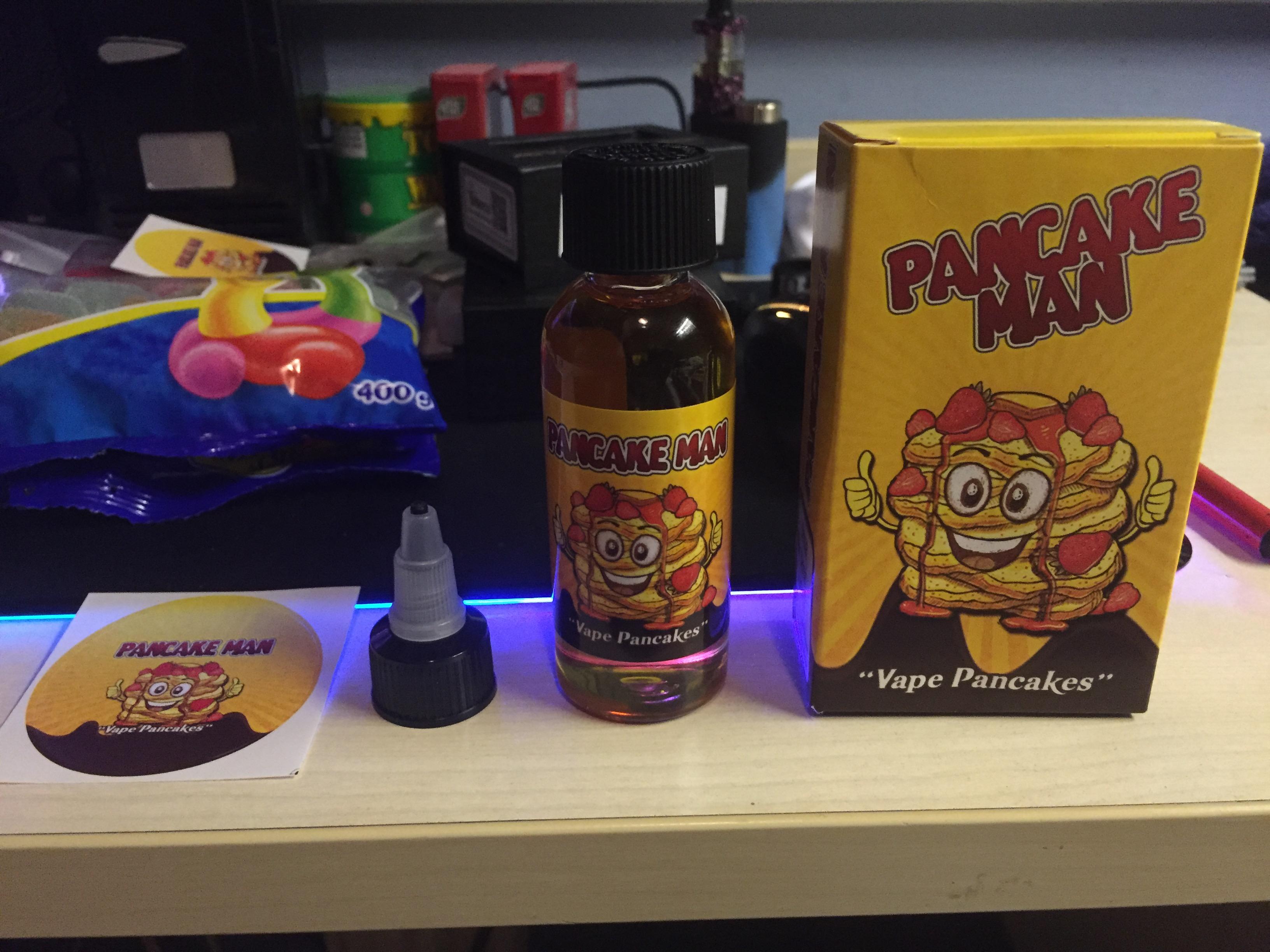 Fake Pancake Man being sold? | Vaping Forum - Planet of the