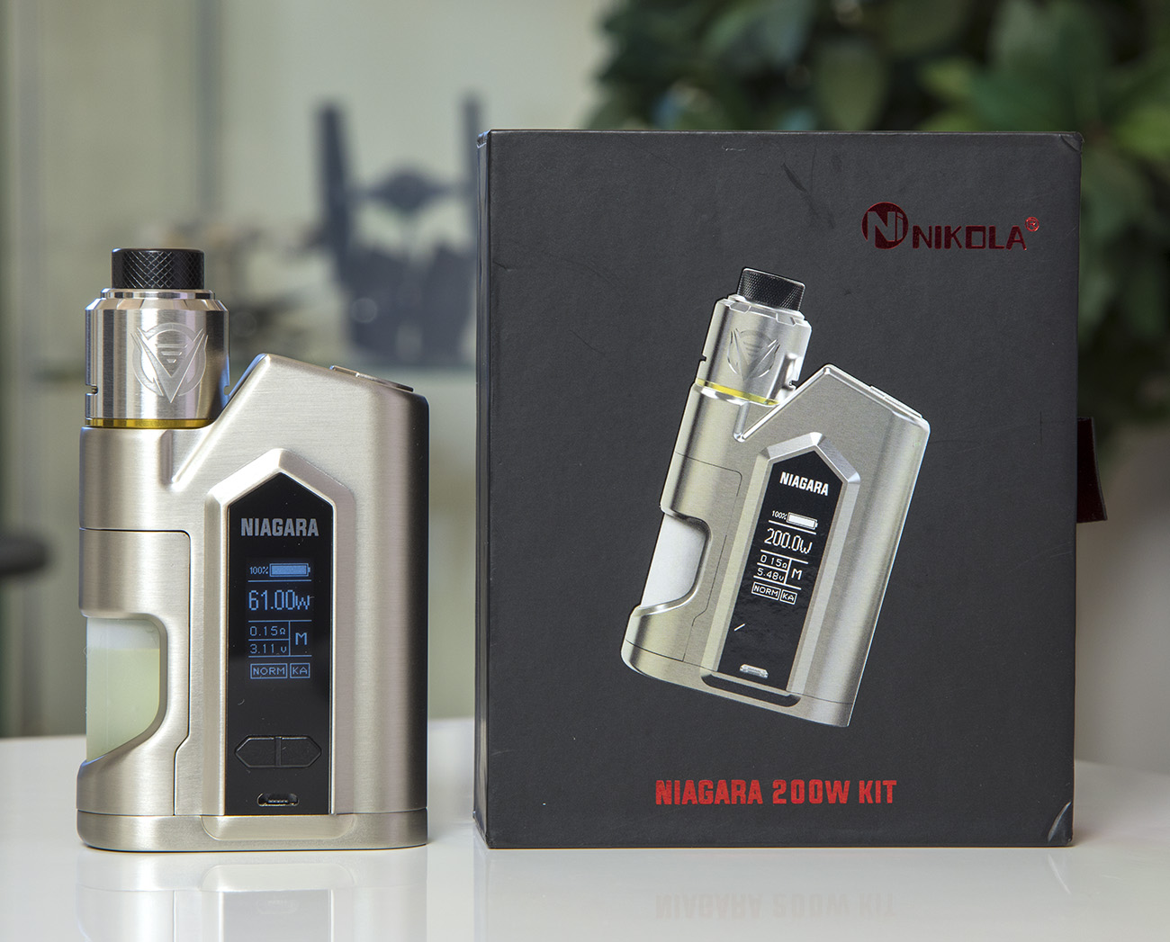 Review - Nikola Niagara Squonk Dual Battery Mod | Vaping