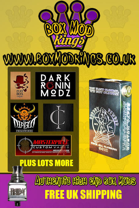 A big hello from Box mod kings | Vaping Forum - Planet of