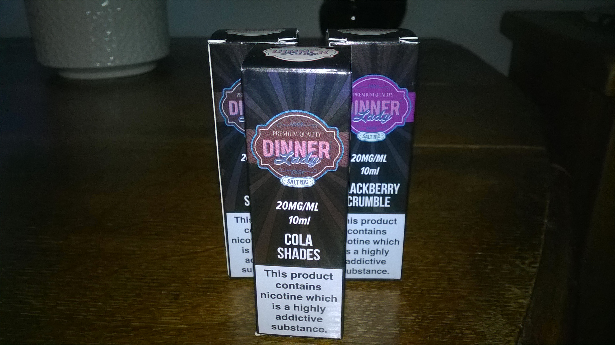 Review - Dinner lady cbd and nic salts juice  | Vaping Forum