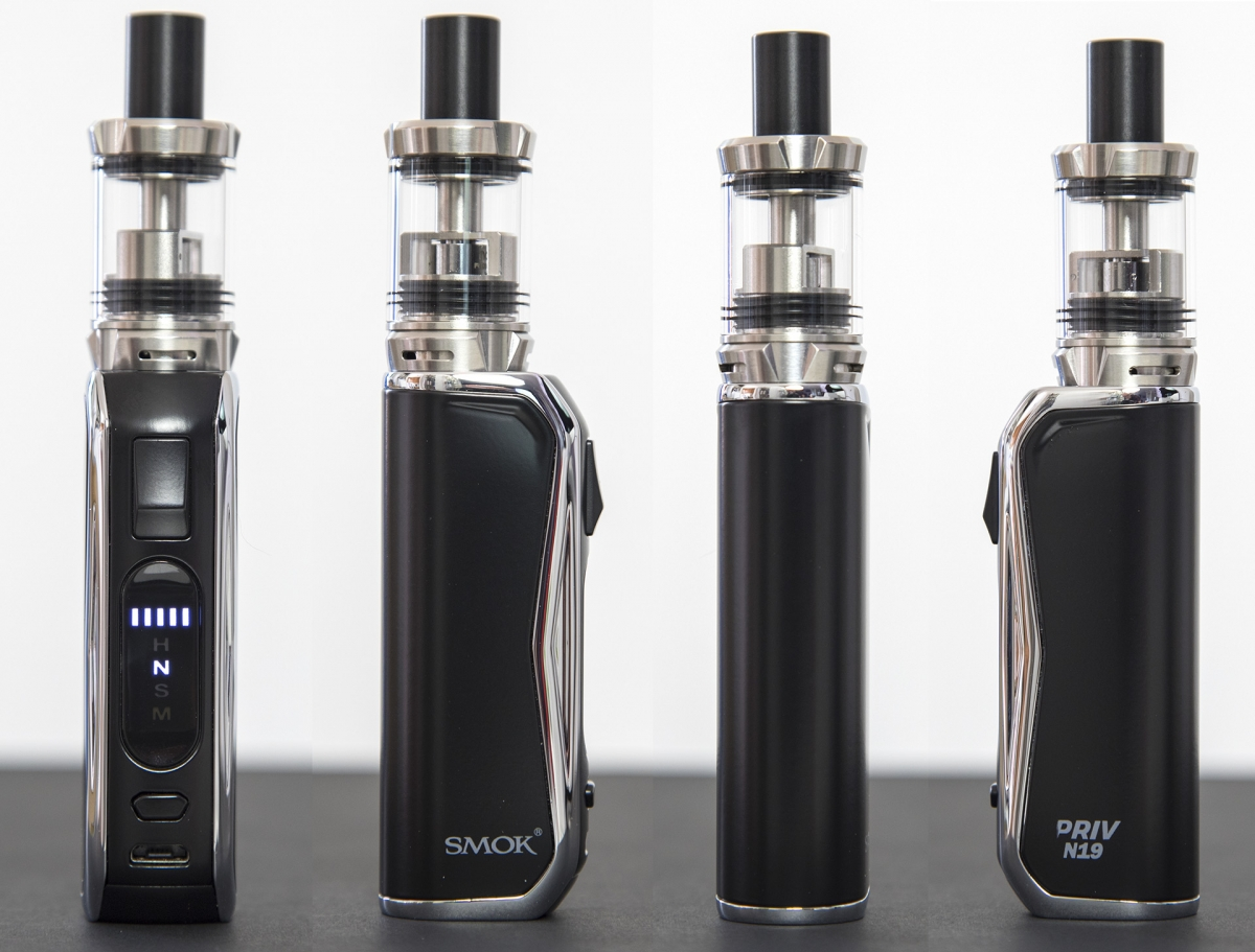 SMOK PRIV N19 Kit from all angles