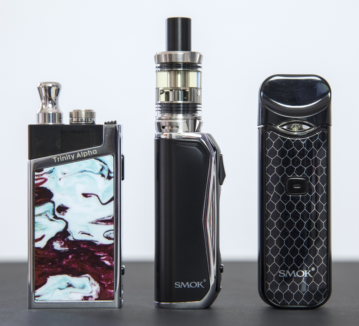 SMOK PRIV N19 Kit comparison
