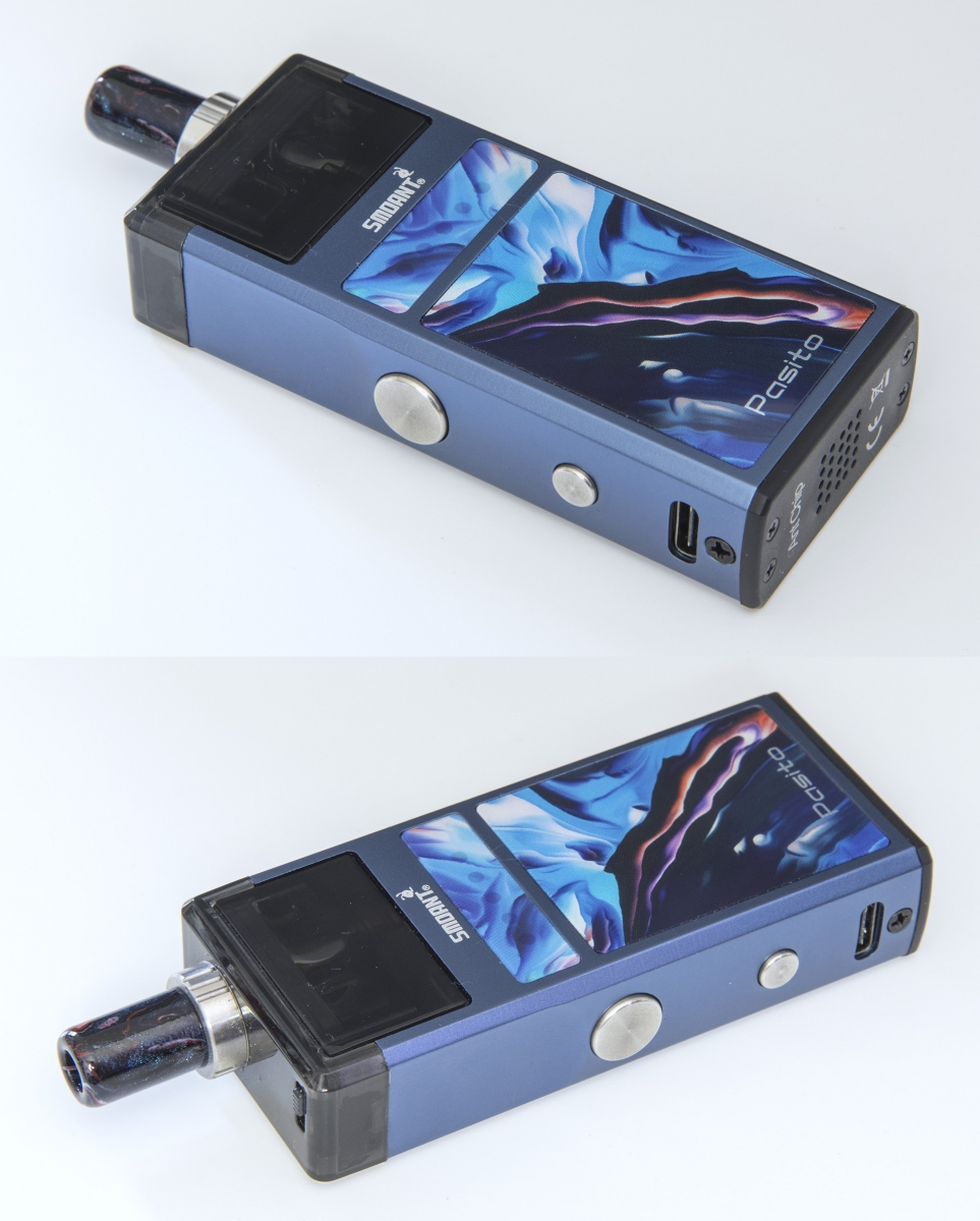Smoant Pasito AIO top and bottom view