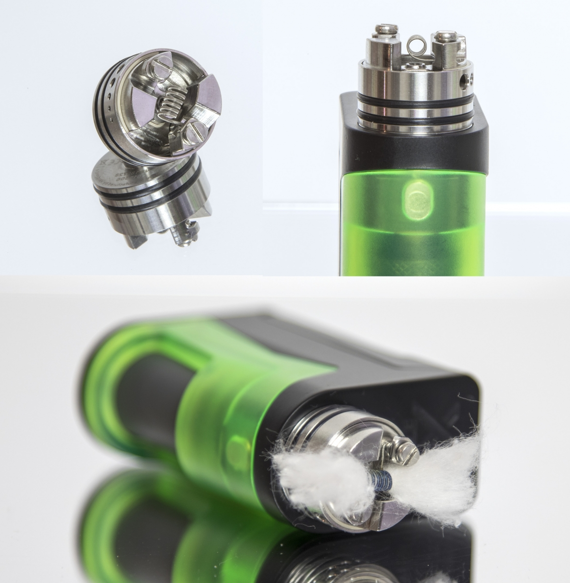 Vapefly Holic with coil
