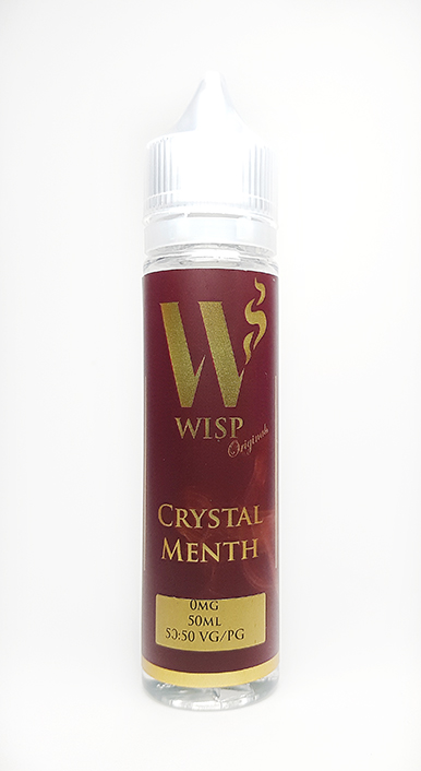 Wisp Eliquid Signature range crystal menth