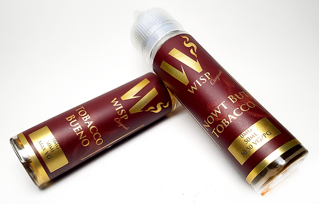 Wisp Eliquid Signature range tobacco money shot