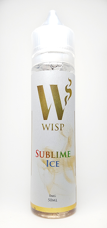 Wisp Eliquid Signature range sublime ice