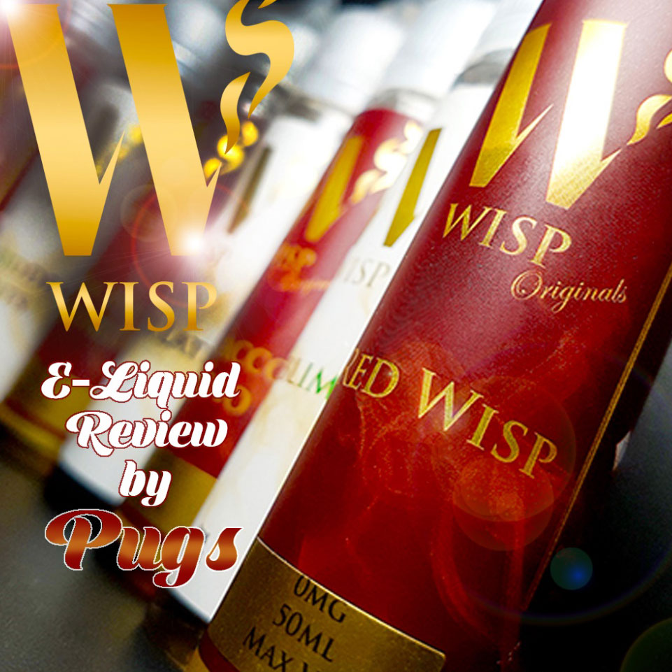 Wisp Eliquid Signature range cover shot