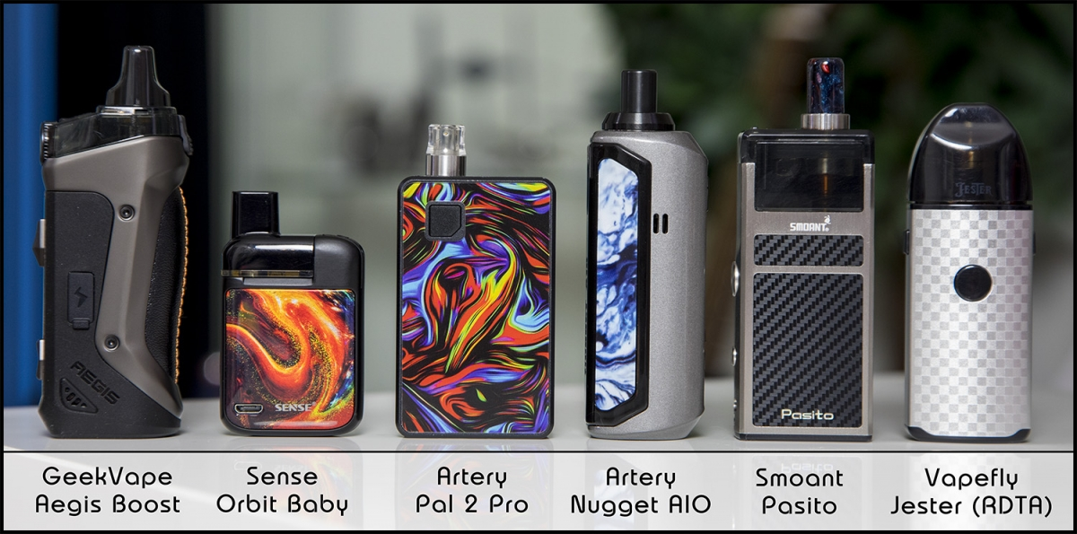 Artery Nugget AIO 40W Pod Kit top of the pods