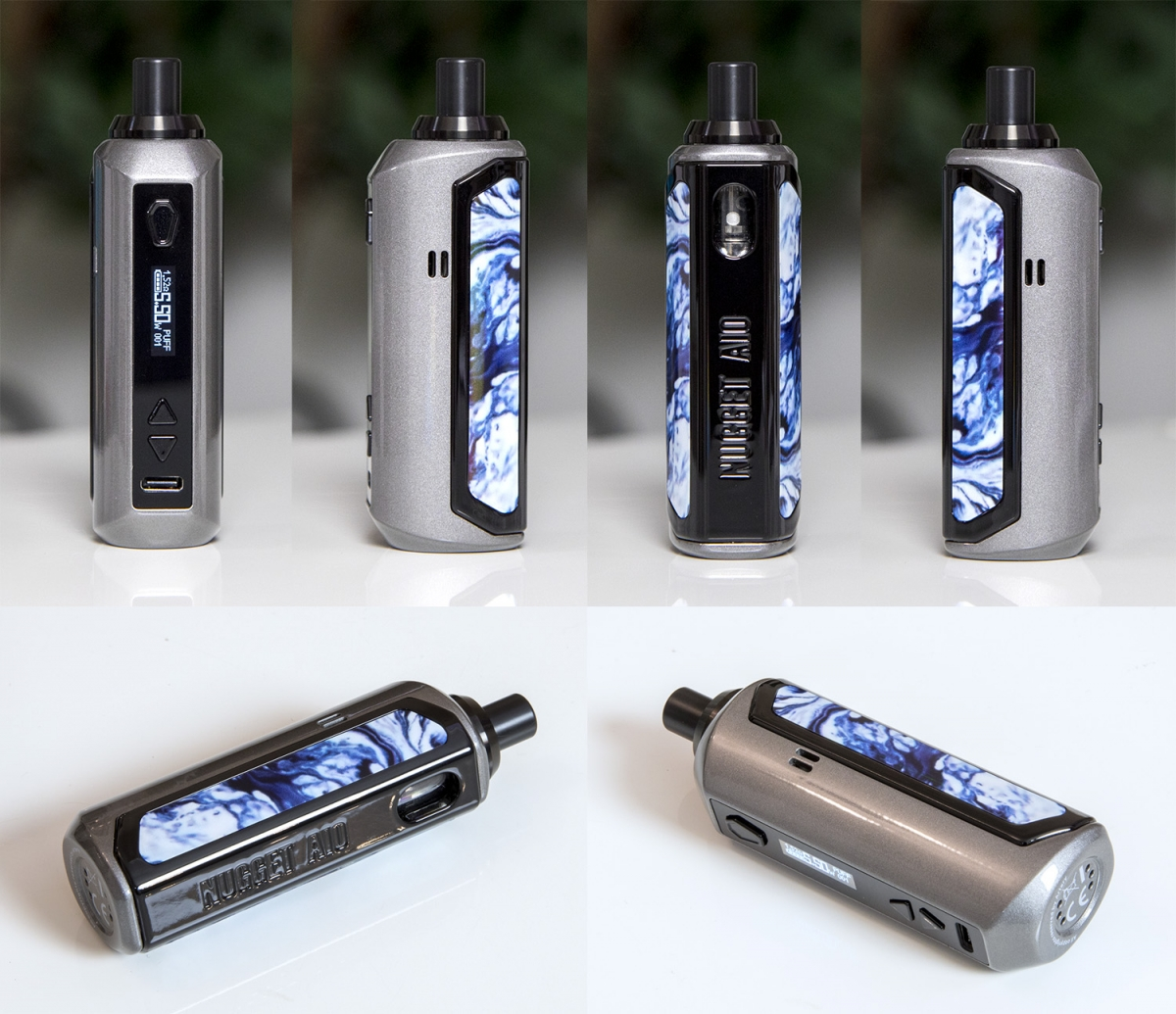 Artery Nugget AIO 40W Pod Kit from all angles