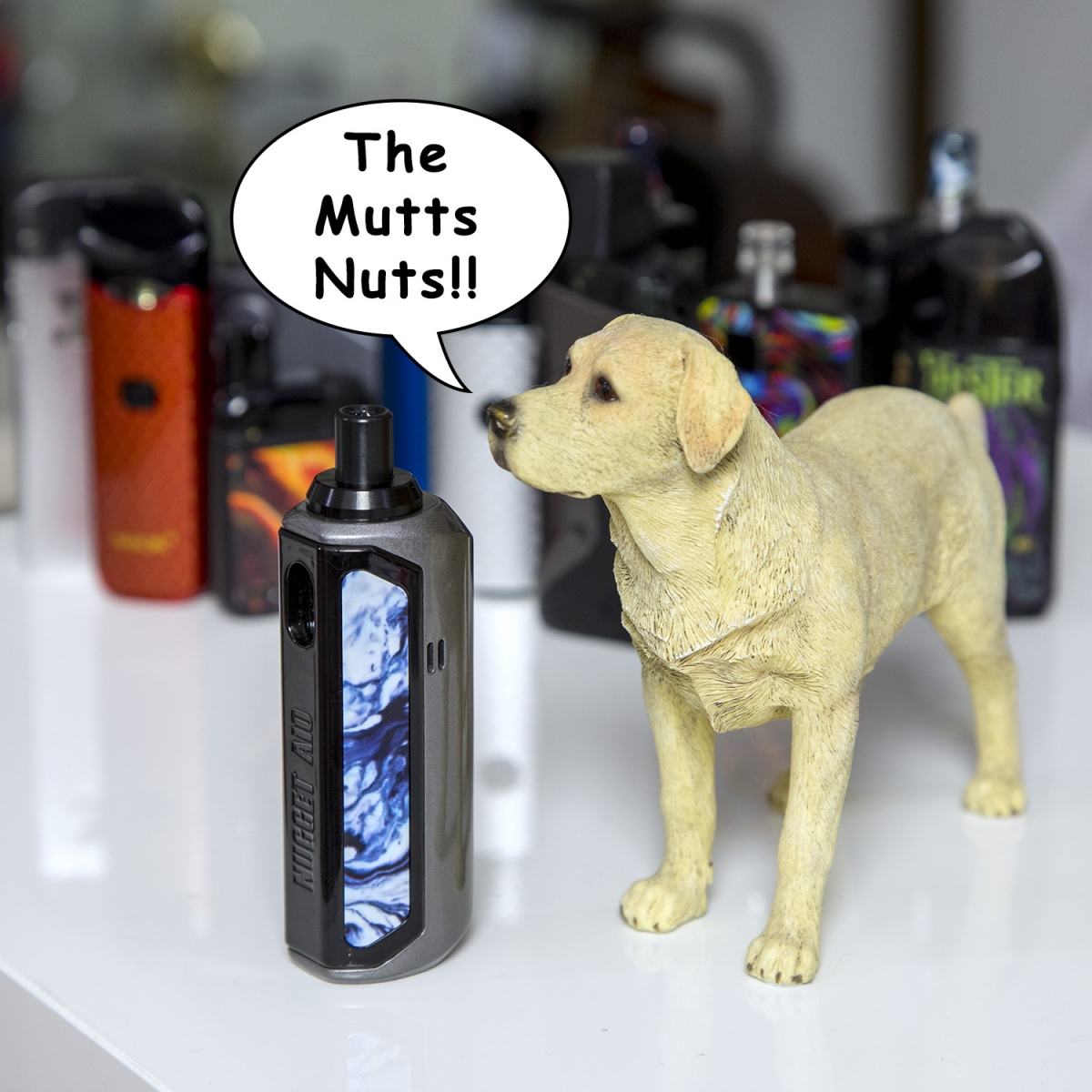 Artery Nugget AIO 40W Pod Kit the mutts nuts!