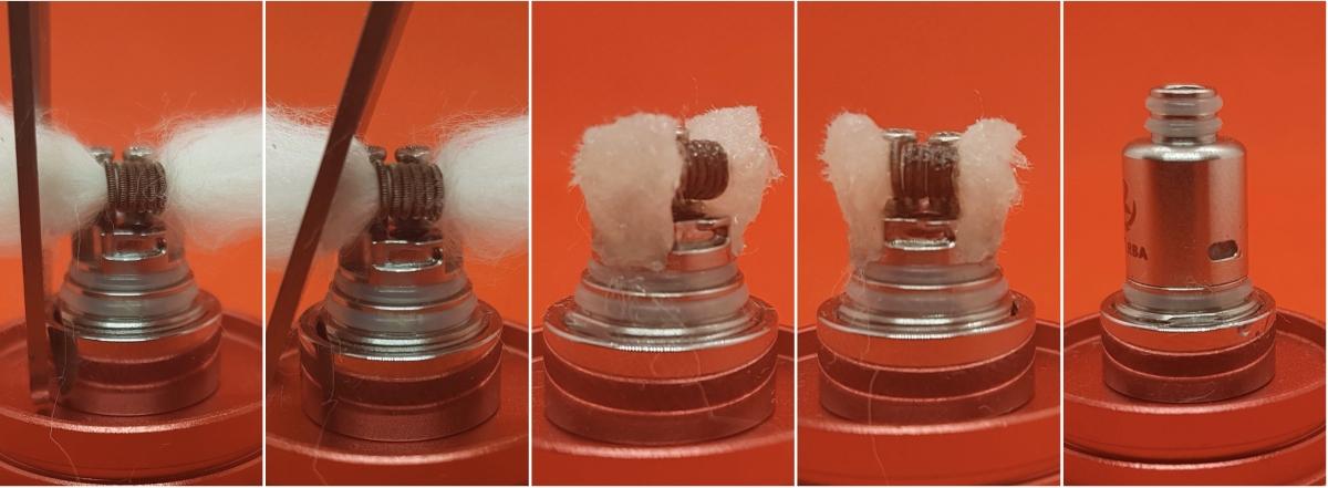 Reewape RUOK Rba wicks close up