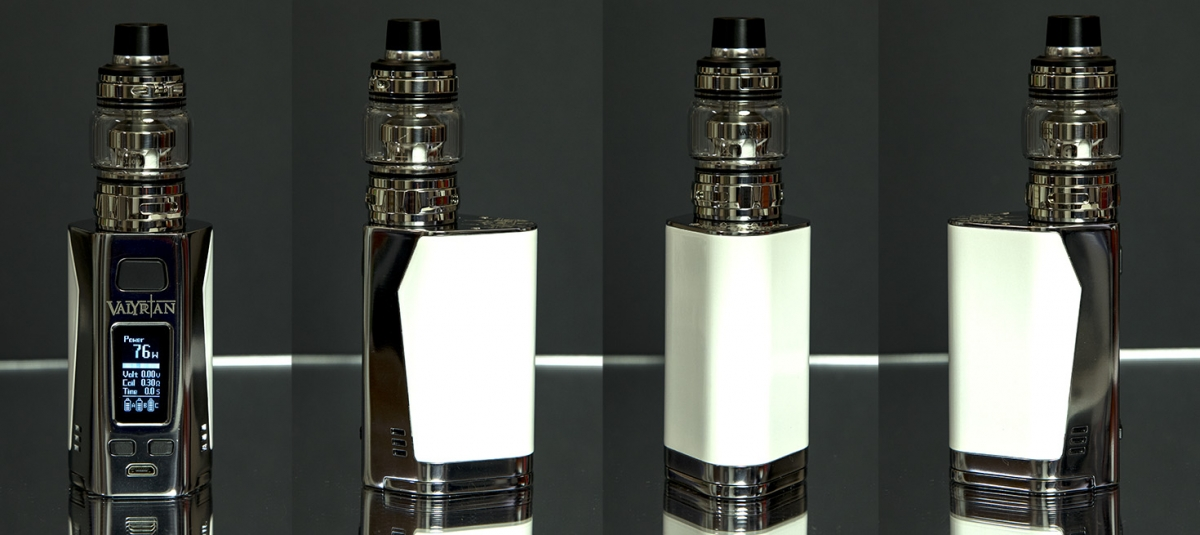 Uwell Valryian 2 300W sub-ohm kit from all angles