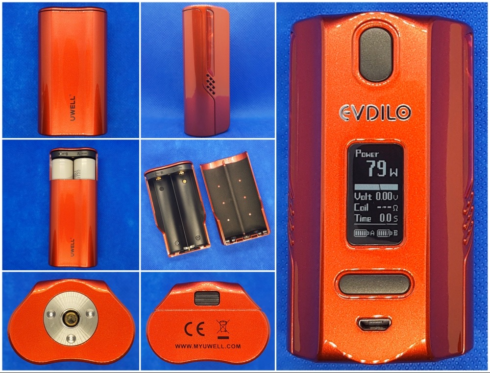 Uwell evdilo kit from every angle