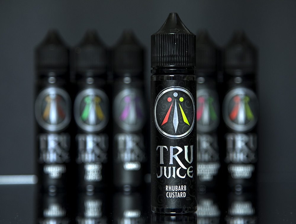 Jack Rabbit Vapes: Tru Juice Range Rhubarb Custard