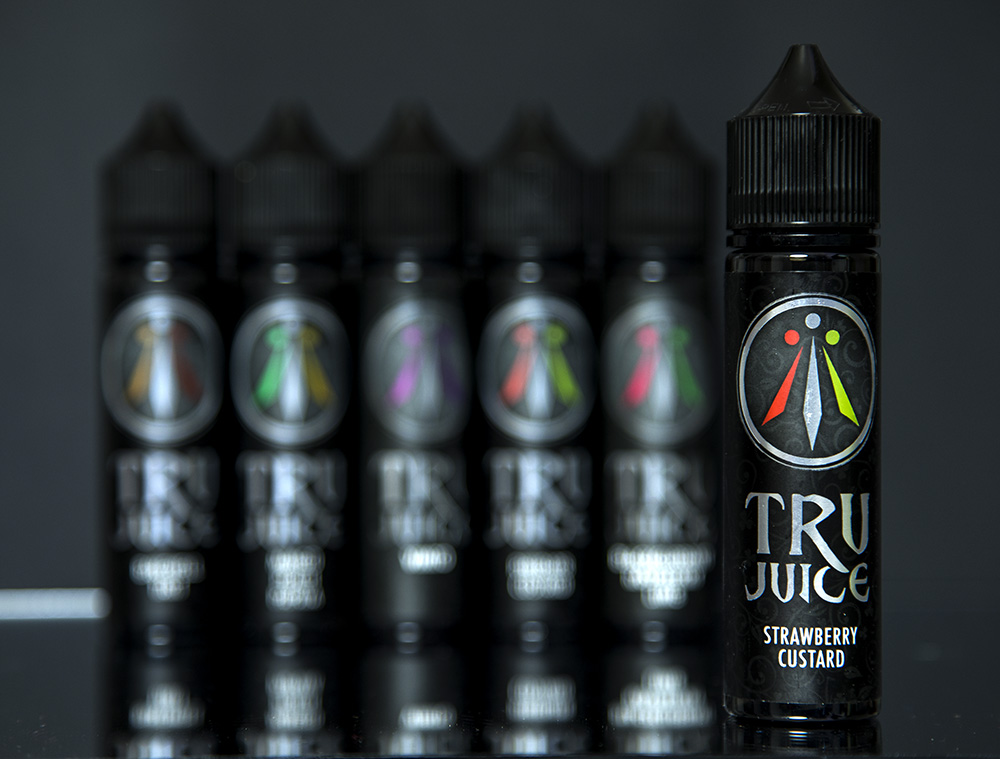 Jack Rabbit Vapes: Tru Juice Range Strawberry Custard
