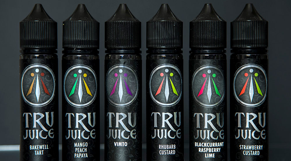 Jack Rabbit Vapes: Tru Juice Range