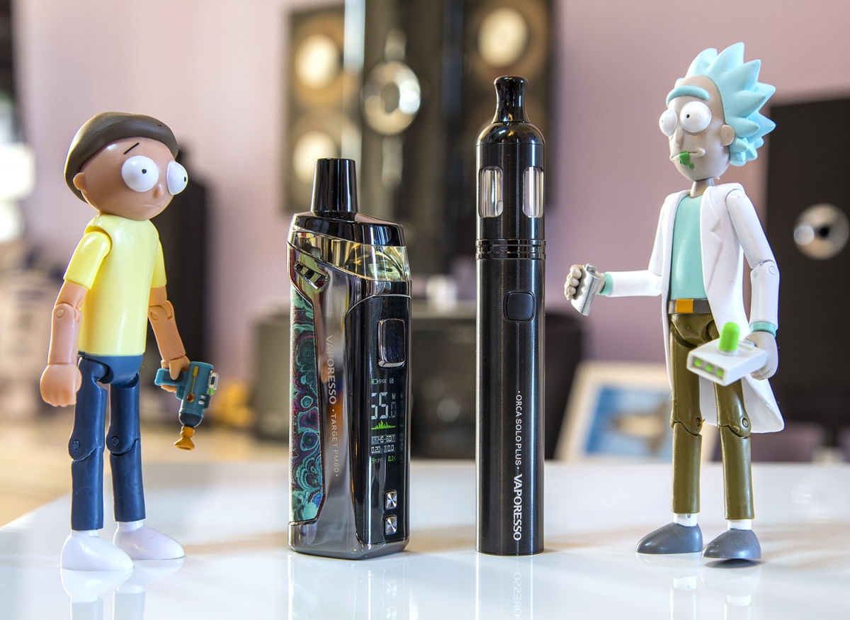 Vaporesso Orca Solo Plus shwifty