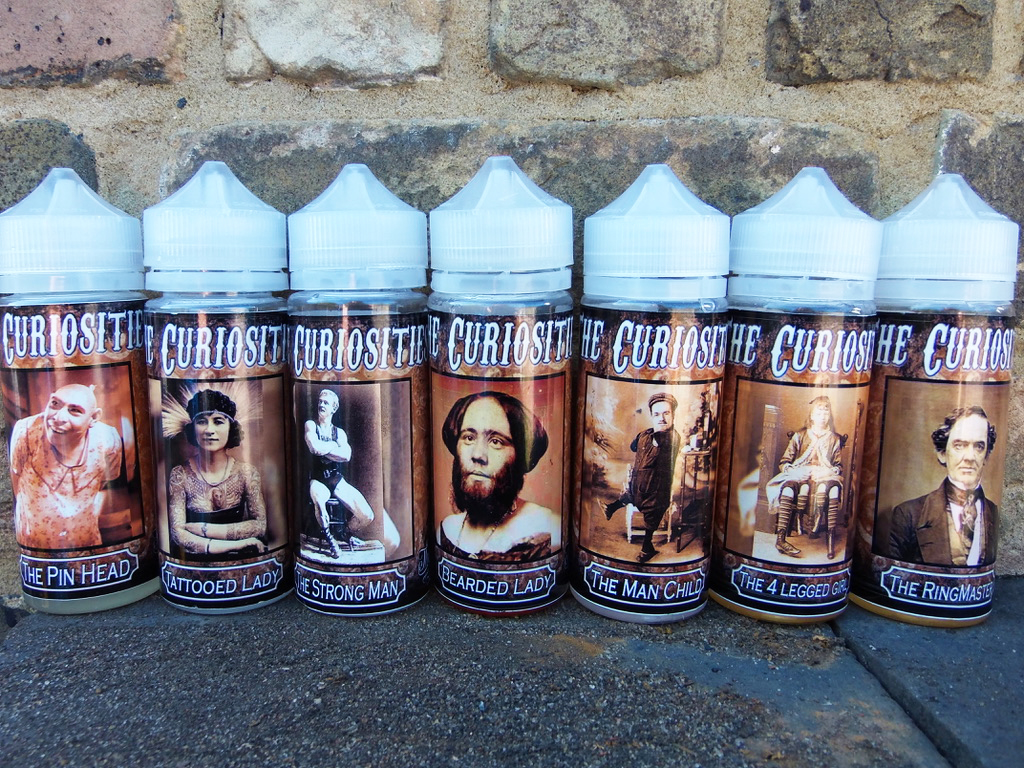The Curiosities by Can Vape Distro Uk Full Range