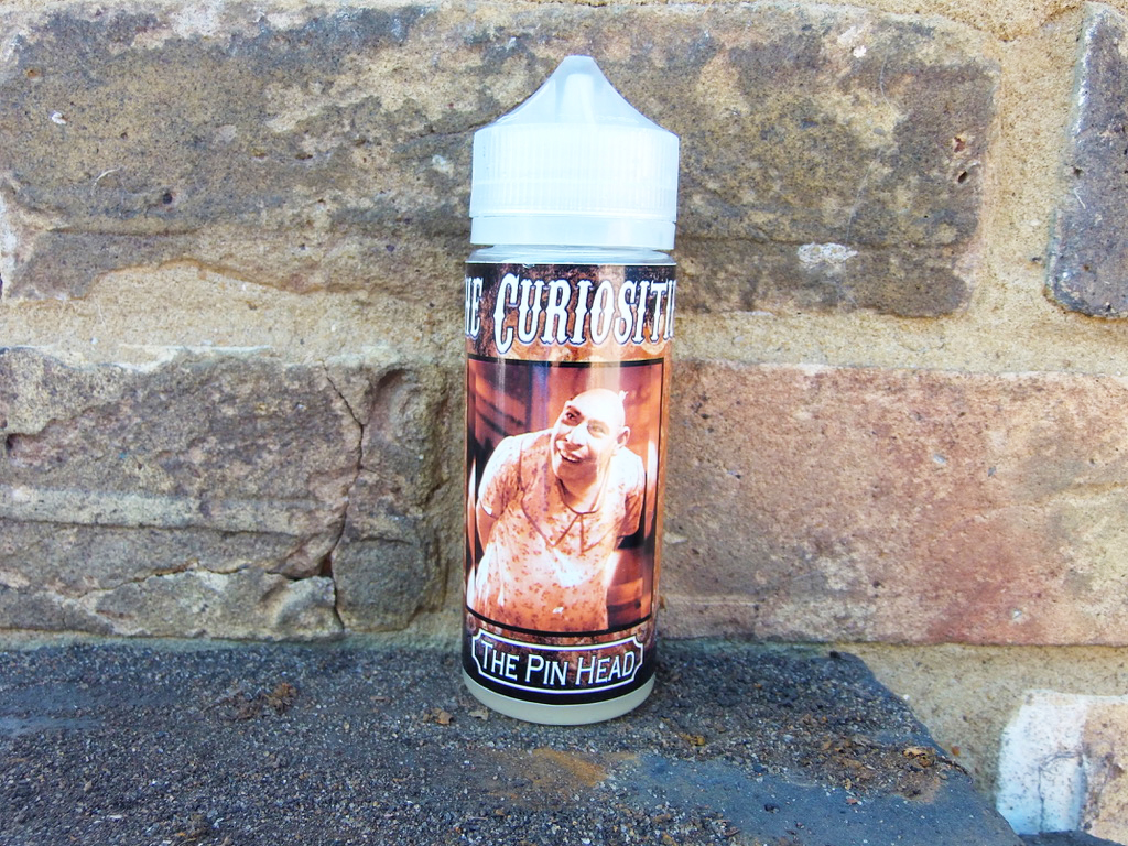 The Curiosities by Can Vape Distro Uk The Pin head