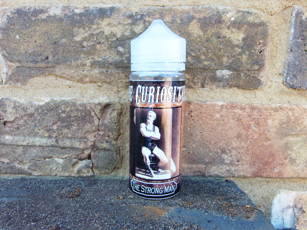 The Curiosities by Can Vape Distro Uk The Strongman