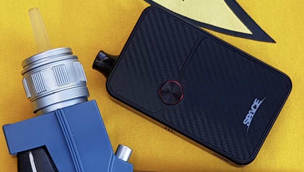 VapeOnly Space 60W Mod Kit phasers set to stunning!