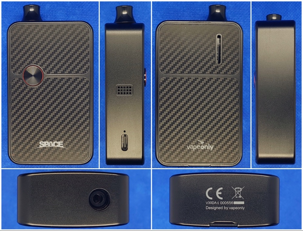 VapeOnly Space 60W Mod Kit body