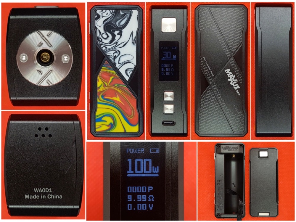 FreeMax Maxus 100w kit from all angles
