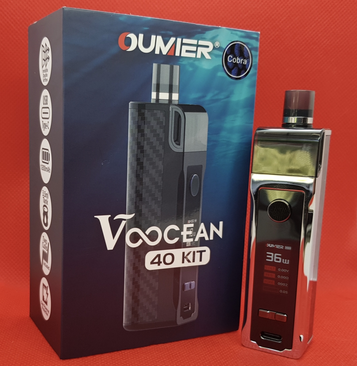 Oumier Voocean 40 kit with box