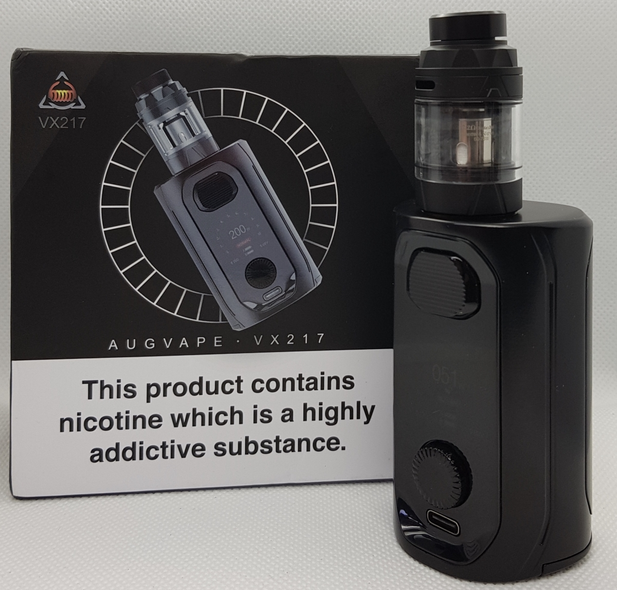 Augvape VX217 Kit close up