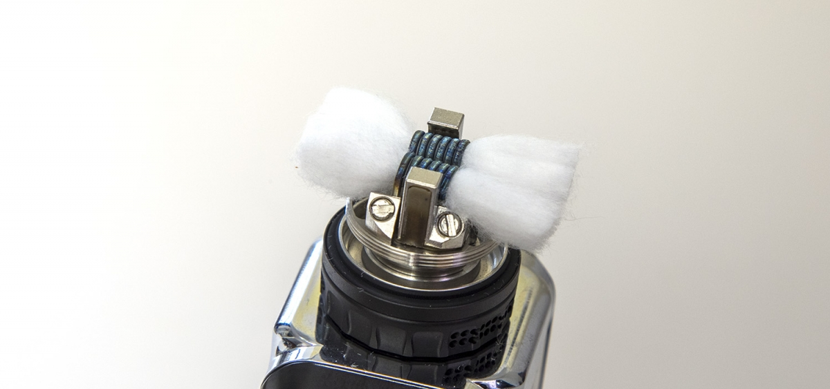 Dovpo Blotto RTA Mini fluffed up