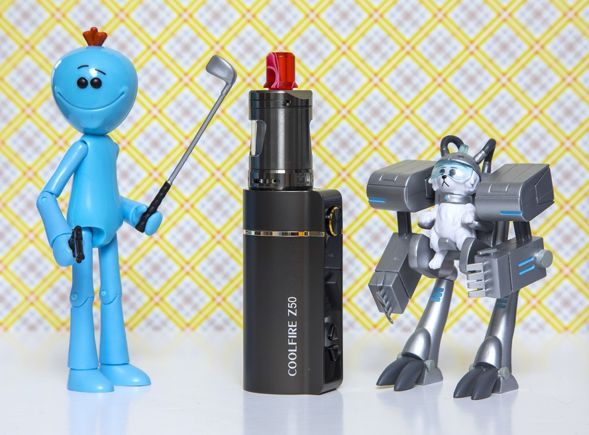 Innokin Coolfire Z50 Zlide Kit Knocking it out of the park