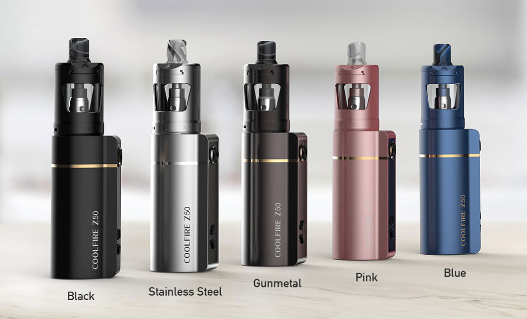 Innokin Coolfire Z50 Zlide Kit Colours