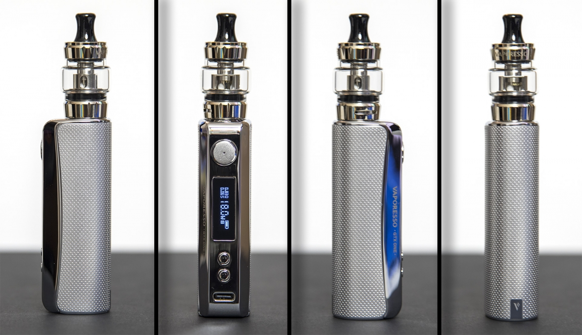 Vaporesso GTX ONE MTL Kit from all angles