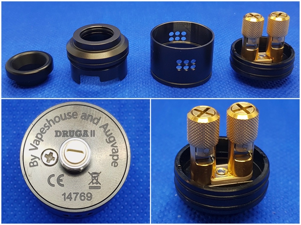 Augvape Druga 2 rda parts breakdown