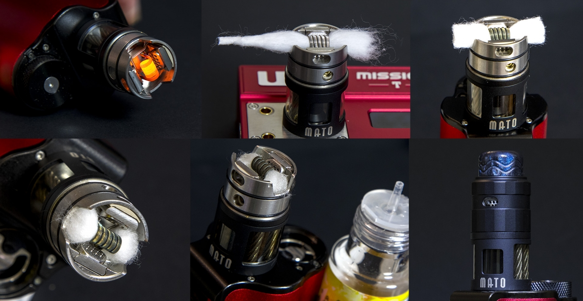 Vandy Vape MATO RDTA wicking
