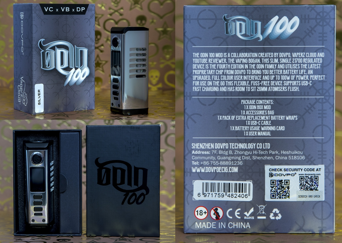 Dovpo Odin 100 packaging