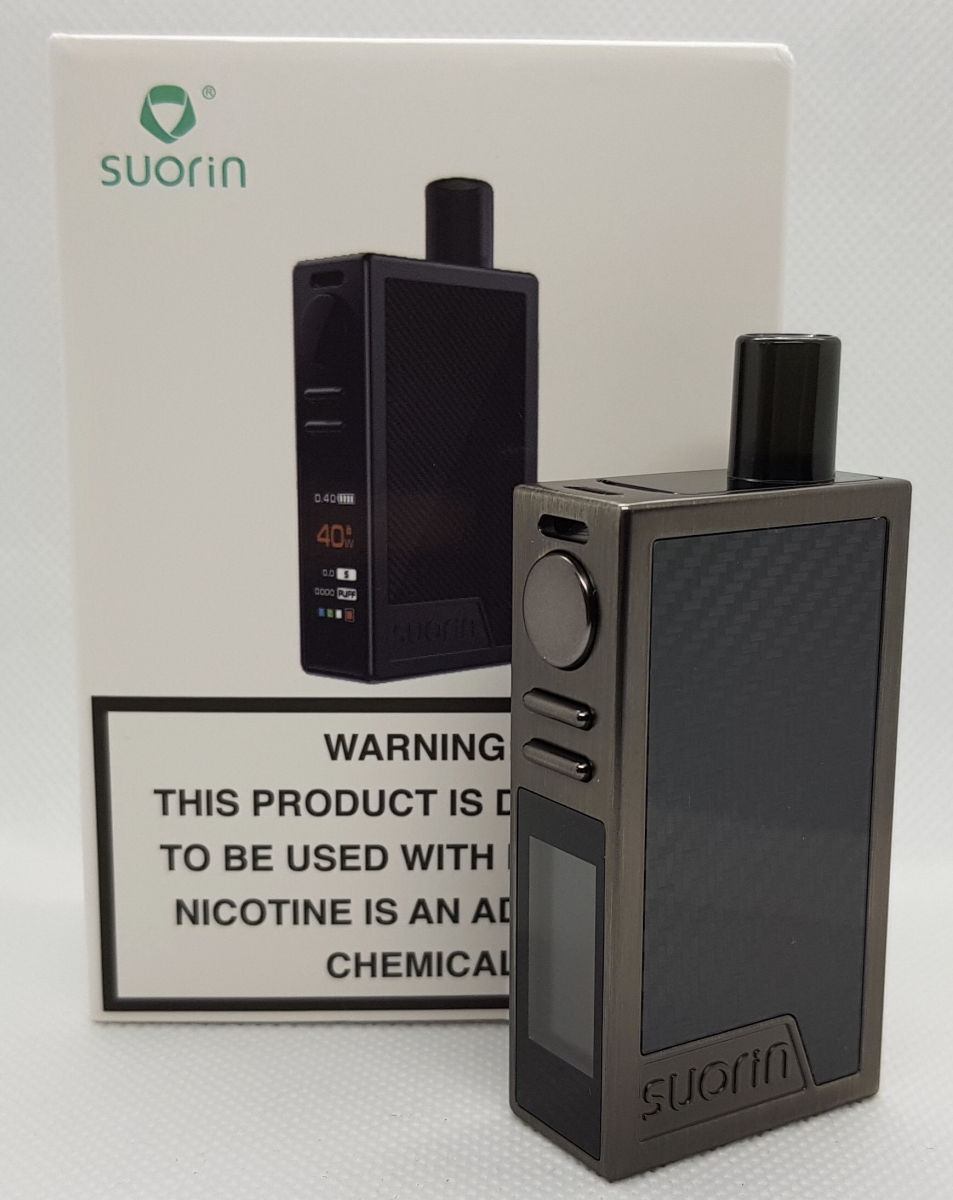 Suorin Elite pod boxed