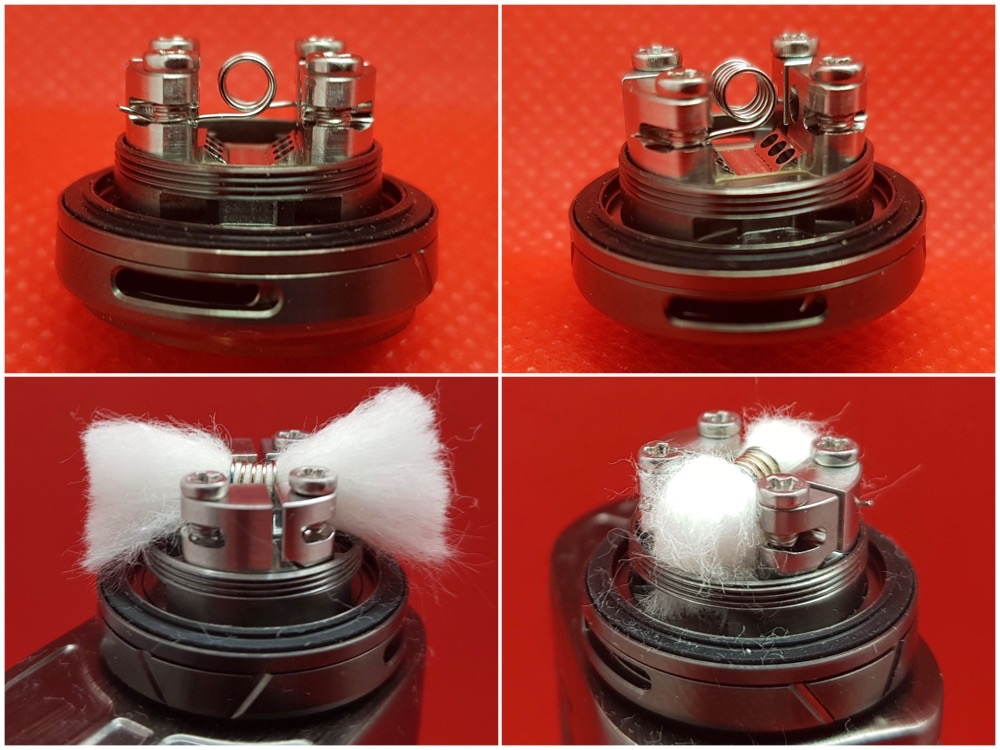 Augvape Druga RTA building and wicking