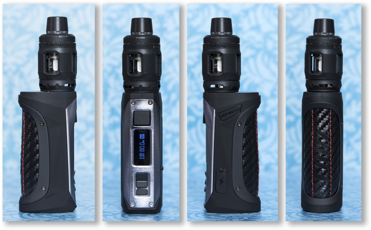 Vaporesso FORZ TX80 kit from all sides