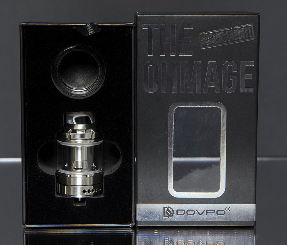 The Ohmage Sub-Ohm Tank by Dovpo box