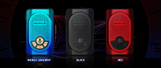 Wismec AI Alexa Box Mod colours
