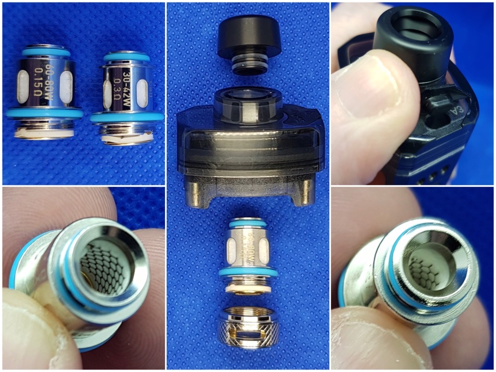 OXVA Velocity 2 in 1 kit Stock coils