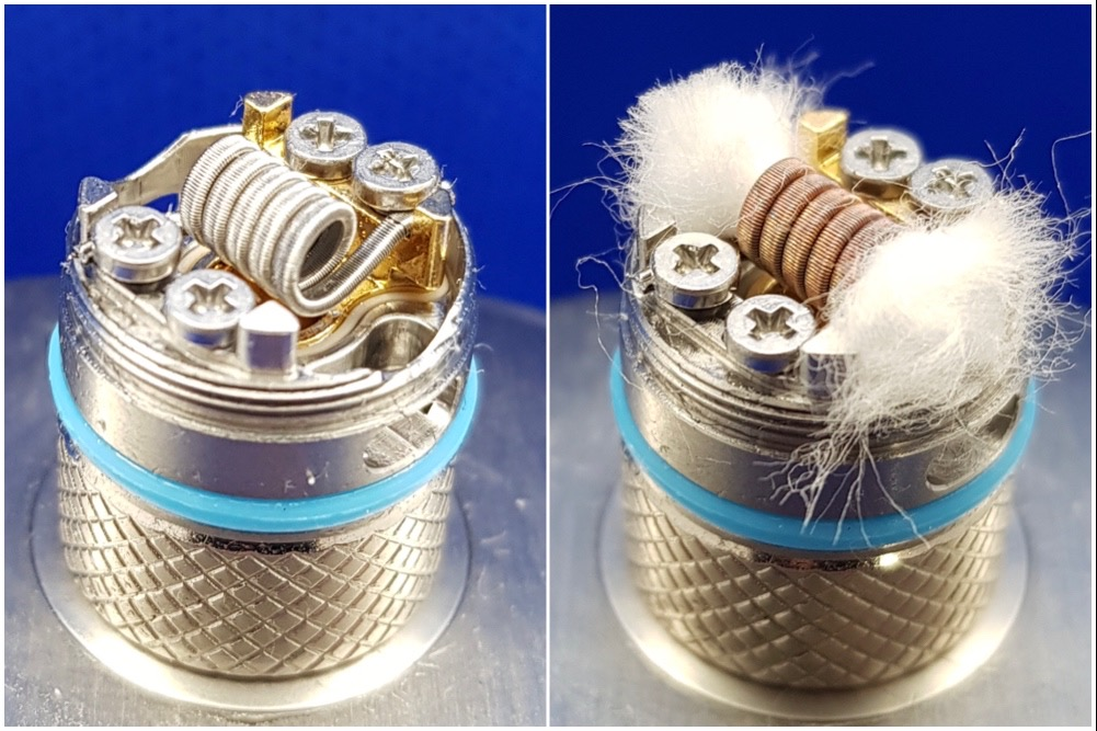 OXVA Velocity 2 in 1 kit Clapton Build