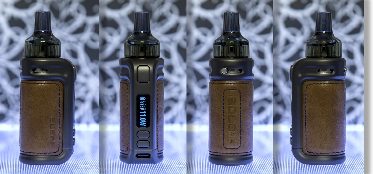 Eleaf iSOLO Air kit side views