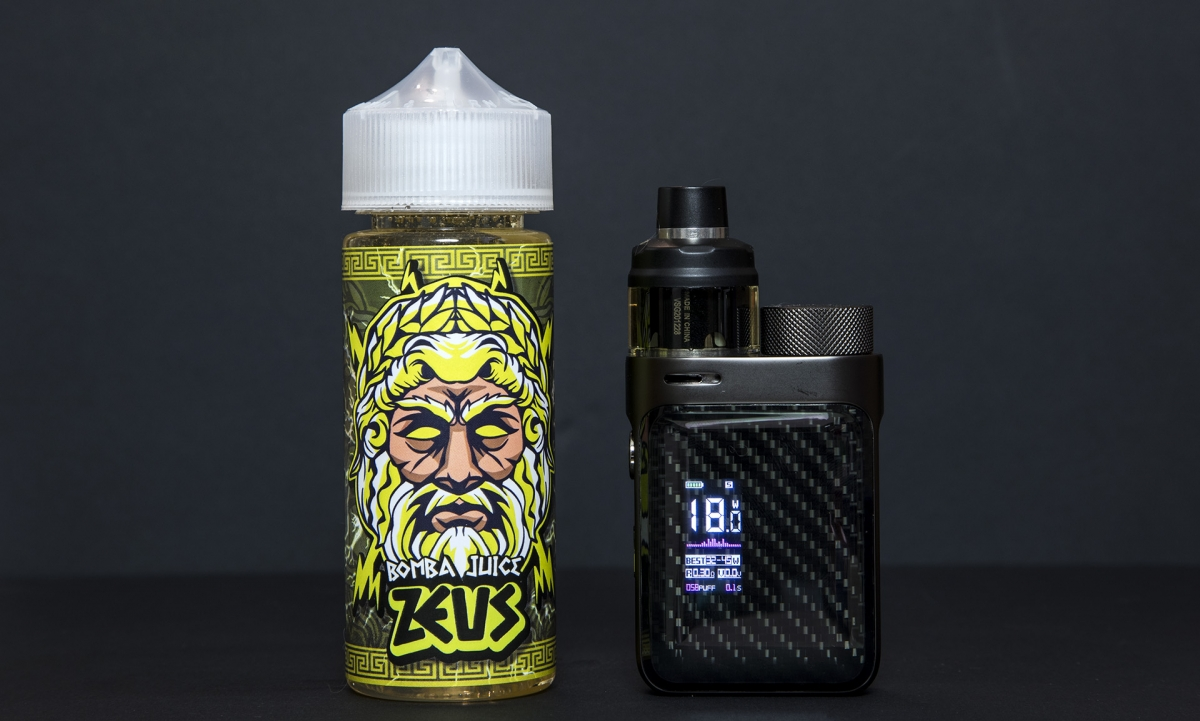 Bomba Juice by Drippin' Junkies steeped