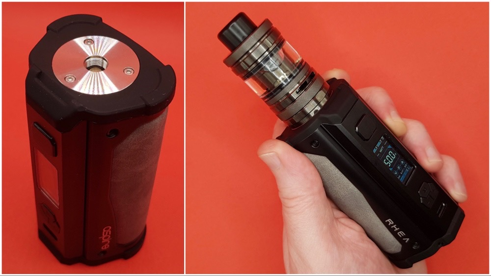Aspire Rhea 510 connection and with tank
