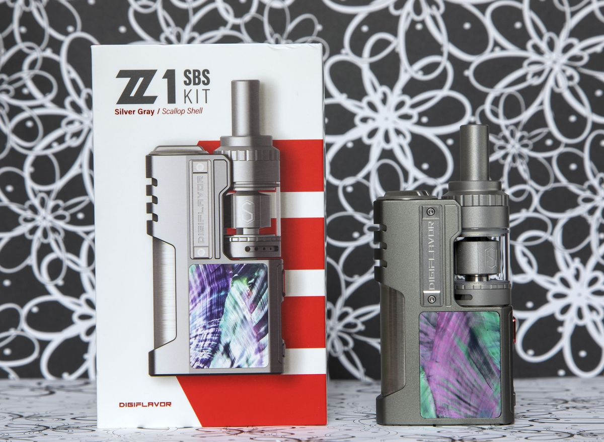 Digiflavor Z1 SBS and Siren3 GTA Kit with box