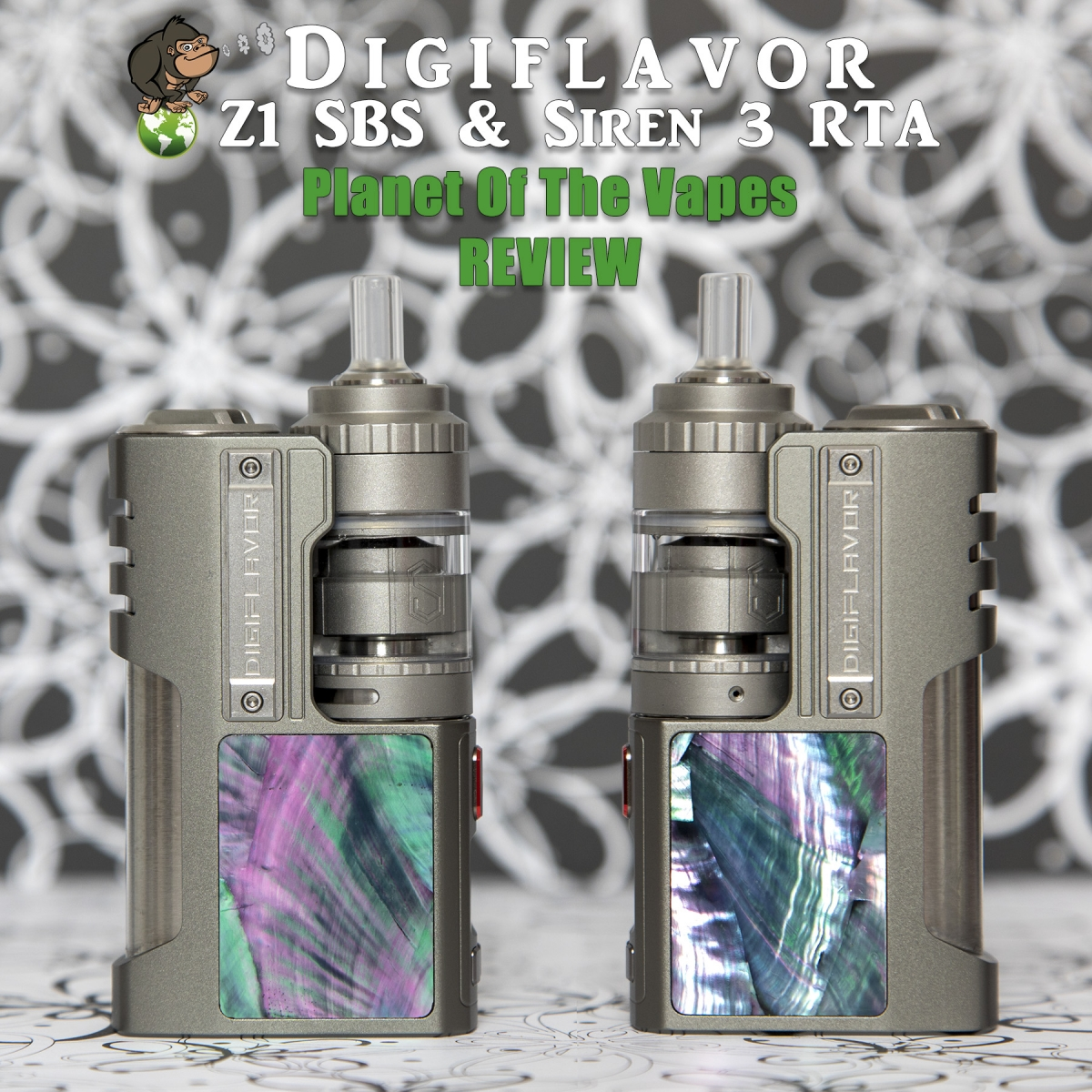 Digiflavor Z1 SBS and Siren3 GTA Kit review