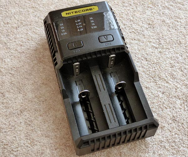 Nitecore SC2 Superb Charger 3A Speedy